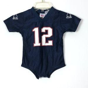 New England Patriots #12 Tom Brady Jersey 12 month